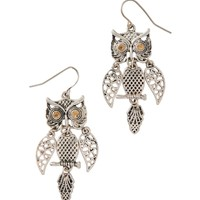 Owl Chandelier Earrings