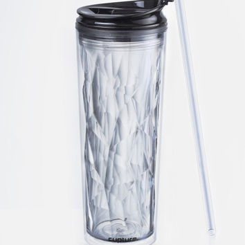 Cupture Crystal Click & Seal Shake Tumbler Cup for Hot or Cold Drinks - 22 oz...