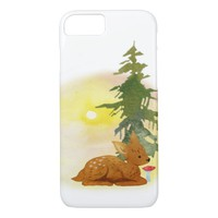Watercolor Fawn iPhone SE/5/5s Case