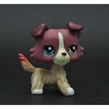Pet Dog Collie Animal child girl boy figure loose cute LP939