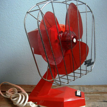 Space Age AEPI oscillante fan