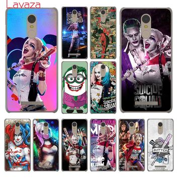 Lavaza Harley Quinn Suicide Squad Joker Hard Phone Cover Case for Xiaomi Redmi 4A S2 6 Note 5 Plus 3 3S 4 Pro 4X 5A Prime Cases