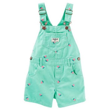 Baby Girl OshKosh B'gosh® Strawberry Shortalls