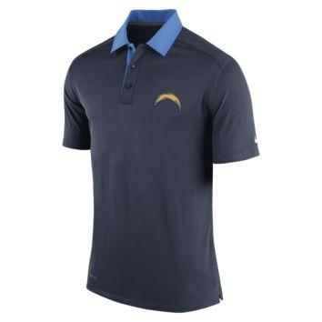 Nike Elite Coaches (NFL Chargers) Men's Polo Shirt