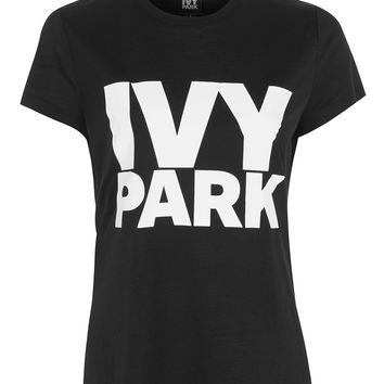 Logo Crew Neck Tee by Ivy Park | Topshop