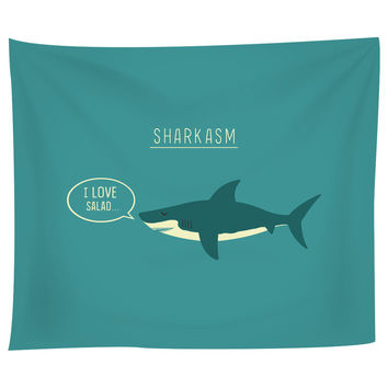 Sharkasm Tapestry