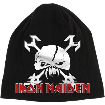 Iron Maiden Men's Final Frontier Beanie Black