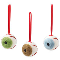 EYEBALL ORNAMENTS | Halloween, Decoration, Christmas, Tree, Fun, Quirky, Eyes | UncommonGoods