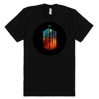 Doctor Who-Unisex Black T-Shirt
