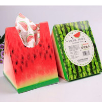 Specialty Watermelon Facial Tissue