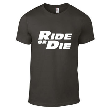 Fast & Furious Inspired Clothing - Ride or Die Crew Neck - Mens
