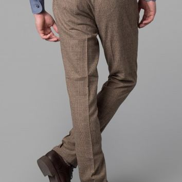 Glen Check Trousers - Casual Trousers - Shop By Product - Men | Hackett