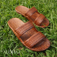 classic light brown pali hawaii sandals