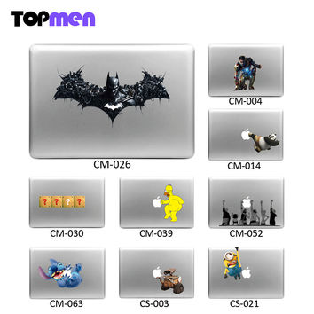 Cool Skin shell For Mac Book For Mac Batman Iron Man Minions Vinyl Decal laptop Sticker for Apple Macbook Pro Air 13 11 15 17