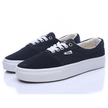 Trendsetter Vans Era Classic Old Skool Canvas Flats Sneakers Sport Shoes