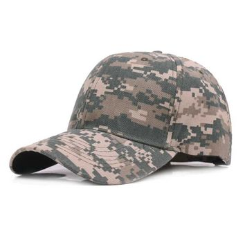 Trendy Winter Jacket 2018 Snow Camo Baseball Cap Men Tactical Cap Camouflage Snapback Hat For Men High Quality Bone Masculino Dad Hat Trucker AT_92_12