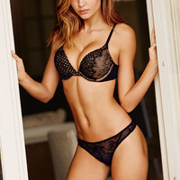 Limited Edition Fishnet & Lace Add-2-Cups Push-Up Bra - Bombshell - Victoria's Secret