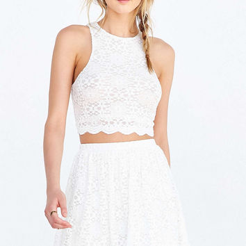 Kimchi Blue Priscilla Cropped Top - Urban Outfitters