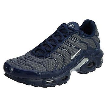 NIKE Mens Air Max Plus Leather Running Shoes-1