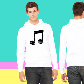 Muisc Note Design sweatshirt hoodiee