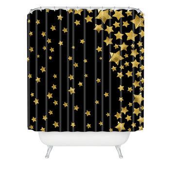 Lisa Argyropoulos Starry Magic Night Shower Curtain