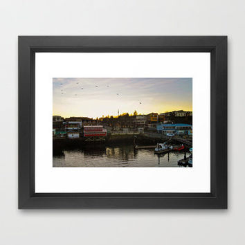 Friday Harbor Framed Art Print by Upperleft Studios | Society6