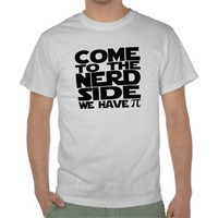 Come To The Nerd Side We Have Pi Tshirt from Ricaso.com