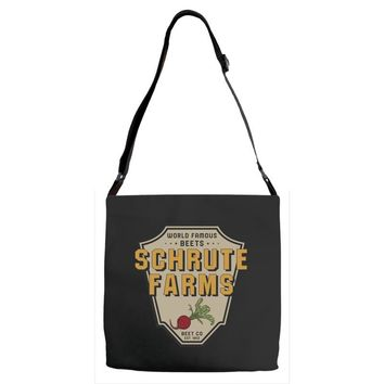 World Famous Beets Schrute Farms Adjustable Strap Totes