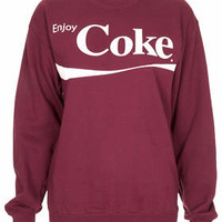 ENJOY COKE SWEAT