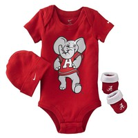 Nike Alabama Crimson Tide Bodysuit Set - Baby