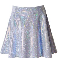 Hologram Shattered Glass Skirt