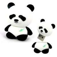 D-CLICK TM High Quality 4GB/8GB/16GB/32GB/64GB/Cool Shape USB High speed Flash Memory Stick Pen Drive Disk (8GB, Panda)