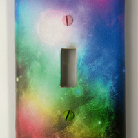 In Space Light Switch Cover