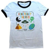 Conspiracy Theories Ringer Shirt