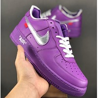 OFF-White x NIKE Air Force 1 OW Low-end sneakers
