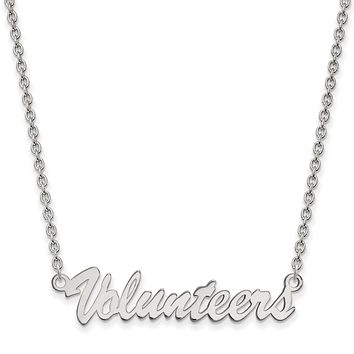 NCAA Sterling Silver U of Tennessee Medium Pendant Necklace