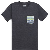 Volcom Rampart Pocket T-Shirt - Mens Tee - Black