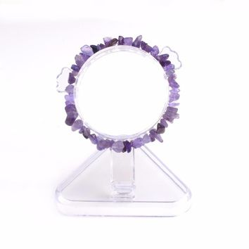Natural Healing Crystal Chip Premium Quality Gemstone Stretch Bracelet