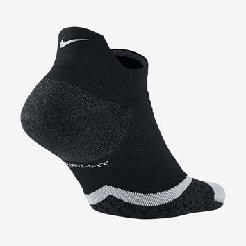 The Nike Elite Cushioned No-Show Tab Running Socks.