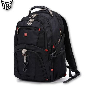 MENS TRAVEL BACKPACK MULTI COMPARTMENT