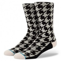 Stance | Hound Dog White, Black socks | Buy at the Official website Main Website.