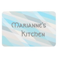 Personalized Beach Colors Rectangular Photo Magnet