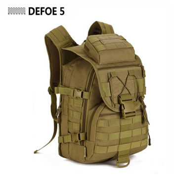 40L Tactical Military Backpack Molle - Tough cordura MATERIAL