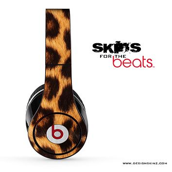 Real Cheetah Print Print Skin for the Beats by Dre