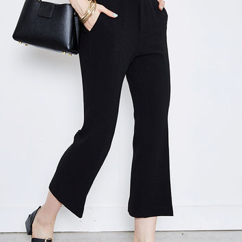 Straight Cropped Pant