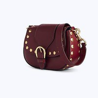 Small Studded Navigator Saddle Bag | Marc Jacobs