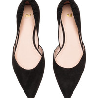 Pointed Flats - from H&M