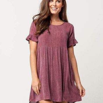 IVY + MAIN Ruffle Sleeve Babydoll Dress | Short Dresses