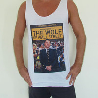 The Wolf Of Wall Street Movie Flim Unisex Vest Tank Top Dress T-Shirt Leonardo Dicaprio Martin Scorsese