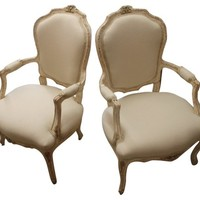 French Chairs, Pair